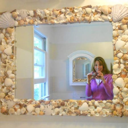 How To Make A Shell Mirror Tutorial With Your Treasures From The Sea