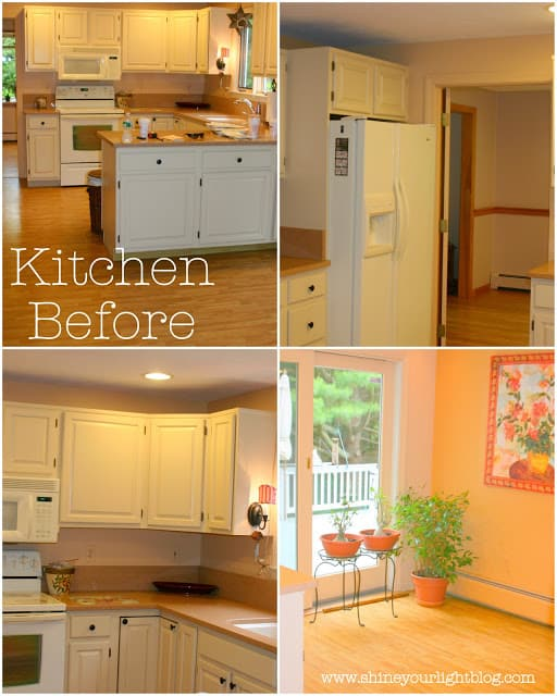 Kitchen before renovating