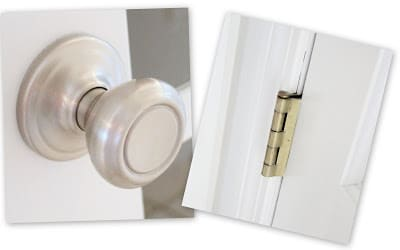 How To Change Door Hinge Color Without Replacing