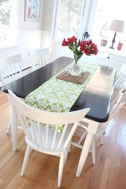 A Kitchen Table Makeover