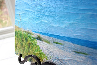 How To Make Tracing Paper and Tissue Paper Wrapped Canvas Art