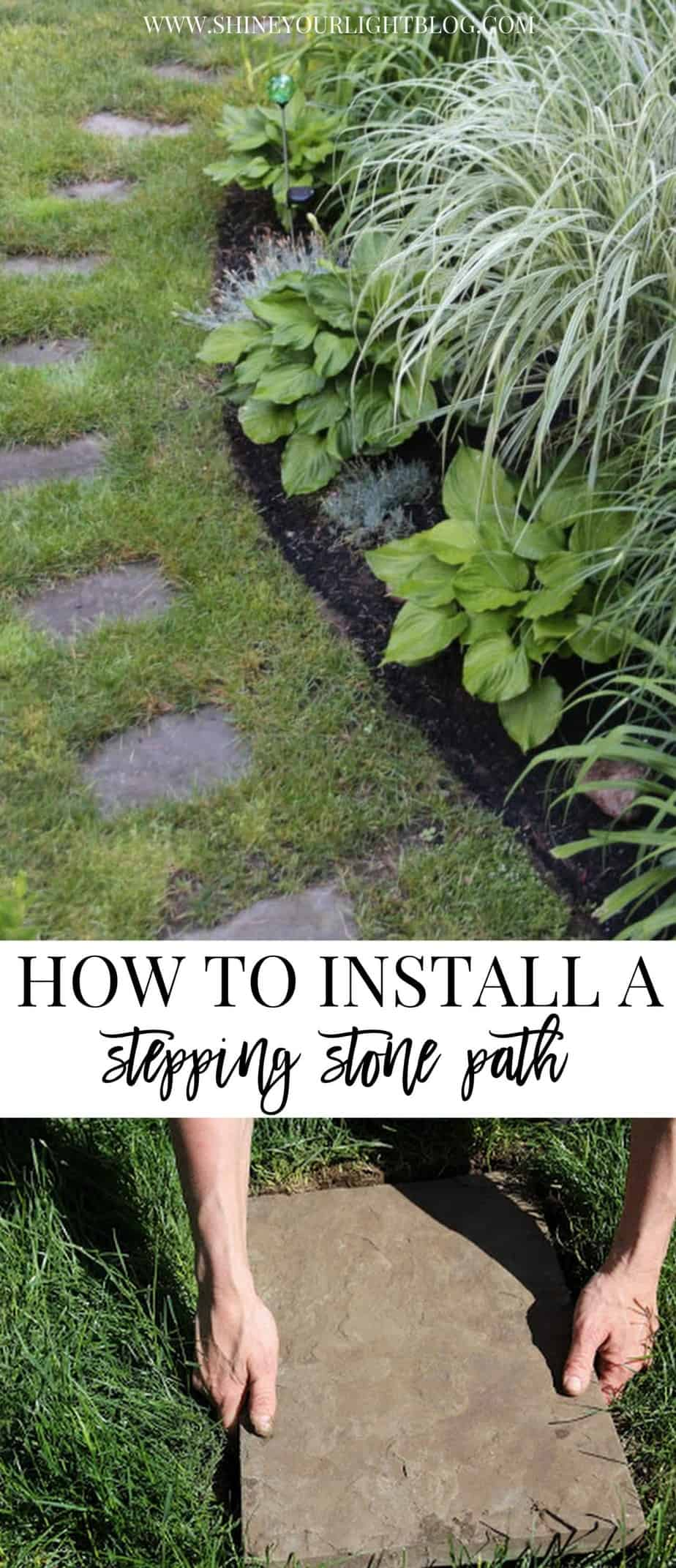 Setting A Stepping Stone Path Shine Your Light