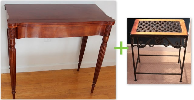 Project Procrastination:  Vanity Table, Stool and Bedside Table
