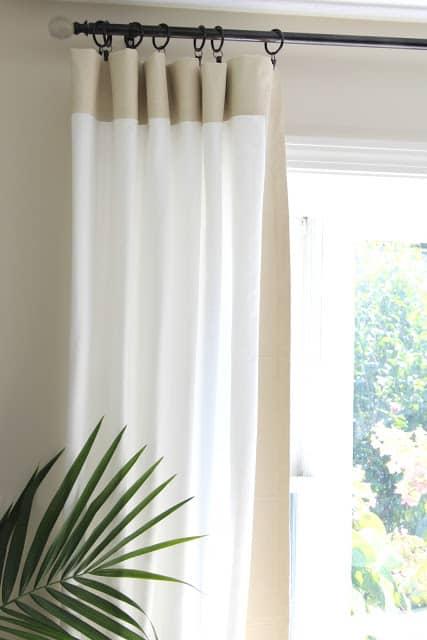 diy curtain rods shine your light. Black Bedroom Furniture Sets. Home Design Ideas
