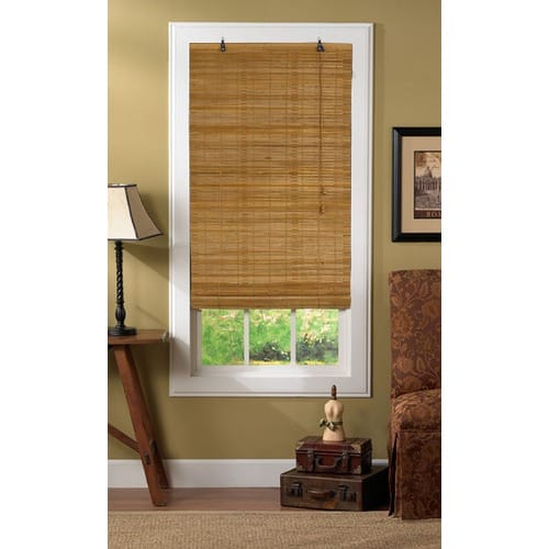 hiding the hardware on bamboo blinds shine your light. Black Bedroom Furniture Sets. Home Design Ideas