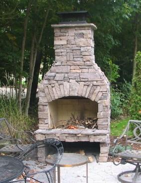 Diy Outdoor Fireplace Kit