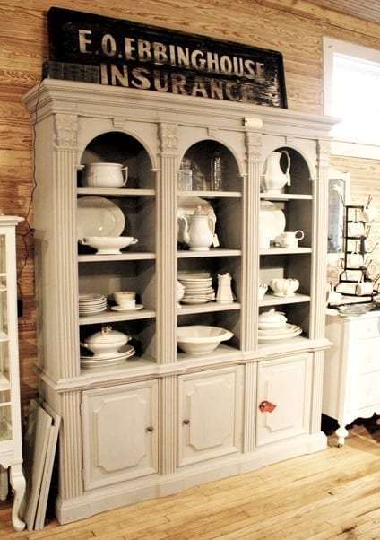 Kitchen Dish Cabinets - Shine Your Light