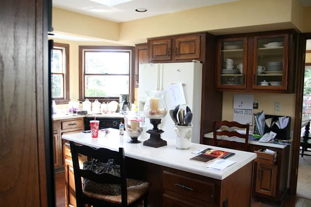 Real Kitchen Background real kitchen - kitchen cabinets
