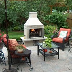 Outdoor fireplace kits for the diyer shine your light Prefab outdoor wood burning fireplace