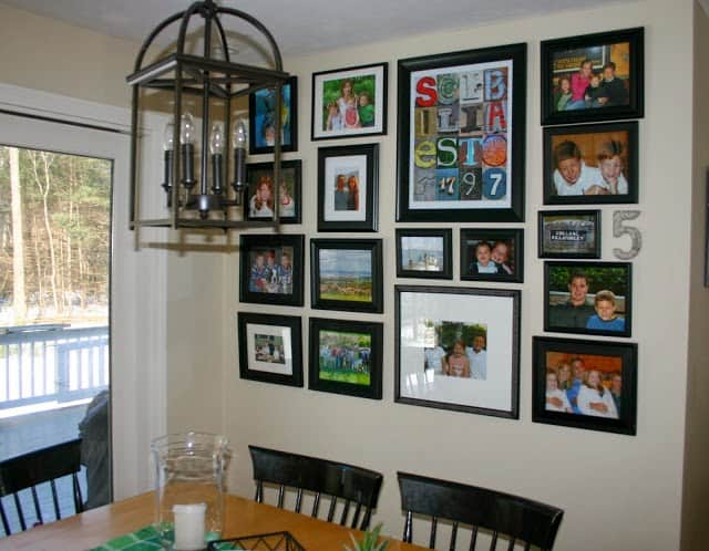 how to repurpose cabinet doors into picture frames shine your light