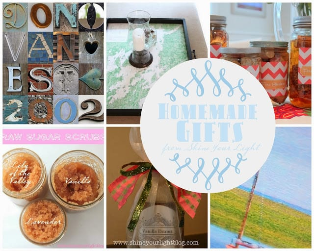 Five Favorite Homemade Gifts