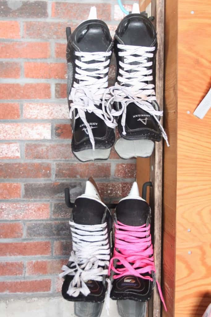 Garage Organization Skate Amp Ski Storage Shine Your Light