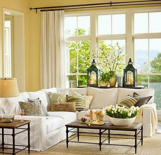 Styling bay window sills shine your light How to decorate windows