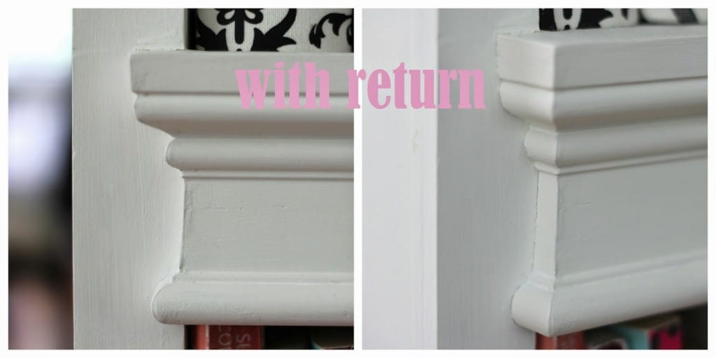 Lovely Chair Rail Return Part - 5: Creating A Chair Rail Return