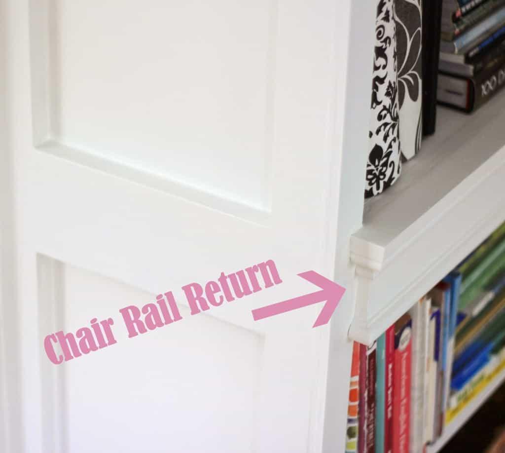 Creating A Chair Rail Return