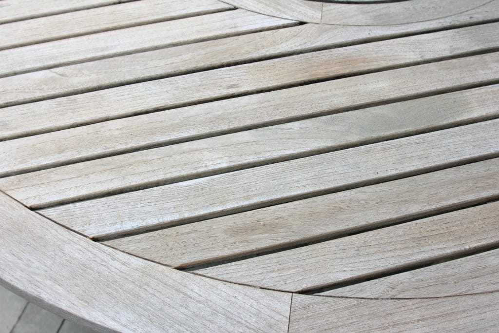 Cleaning  Sealing Outdoor Teak Furniture - Shine Your Light