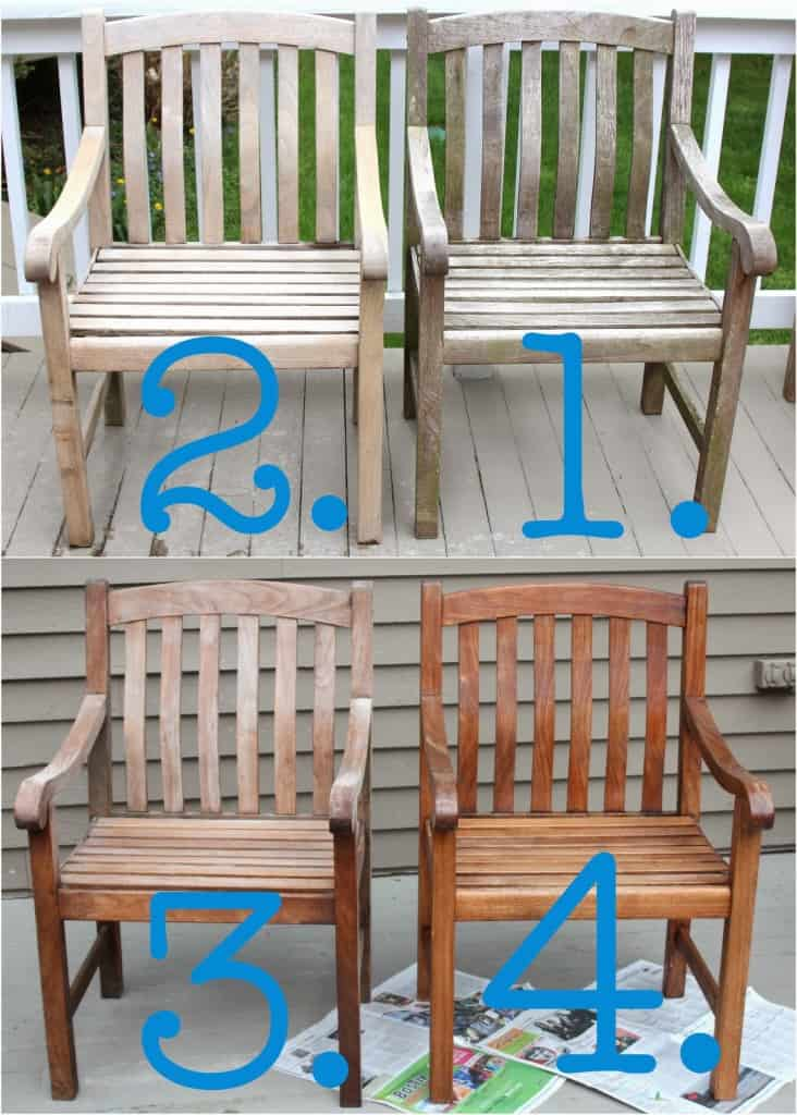 Cleaning Sealing Outdoor Teak Furniture Shine Your Light