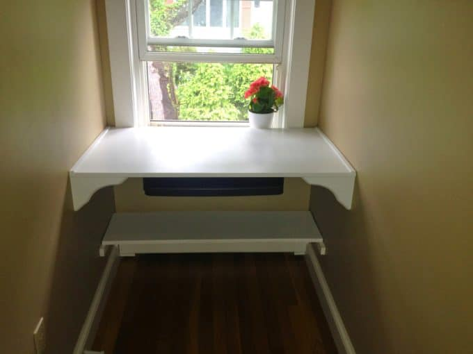 Built In Alcove Desk