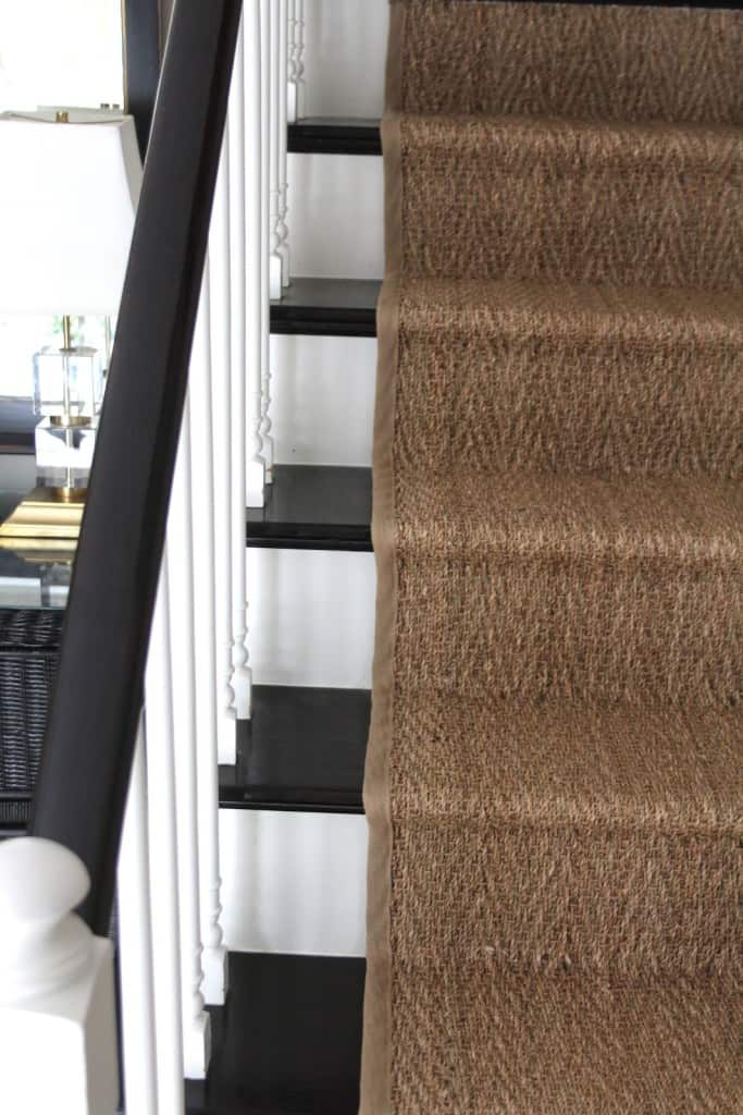 How Our Natural Fiber Stair Runner Has Held Up Shine