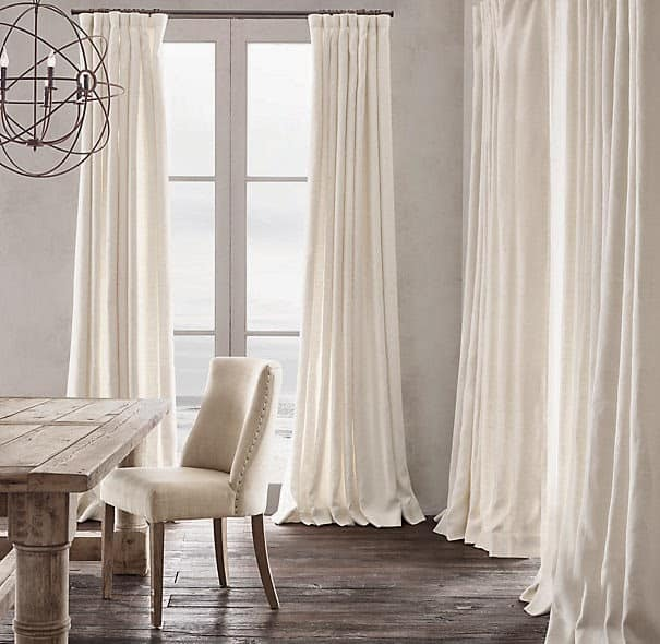 linen curtains shine your light - Ikea Curtains
