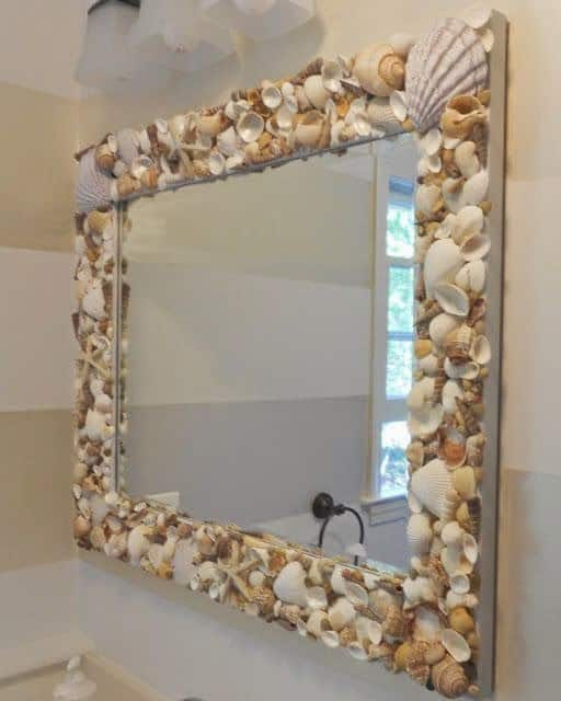 How to make an oyster shell mirror shine your light how to make an oyster shell mirror solutioingenieria Image collections