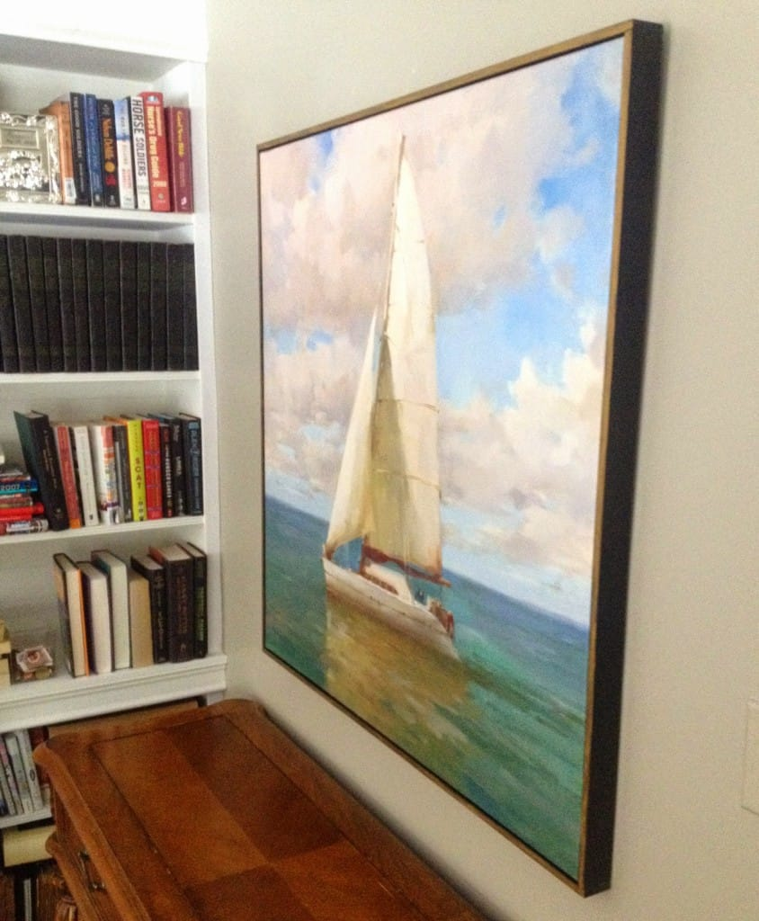 How To Change The Finish And Frame A Canvas Print Shine