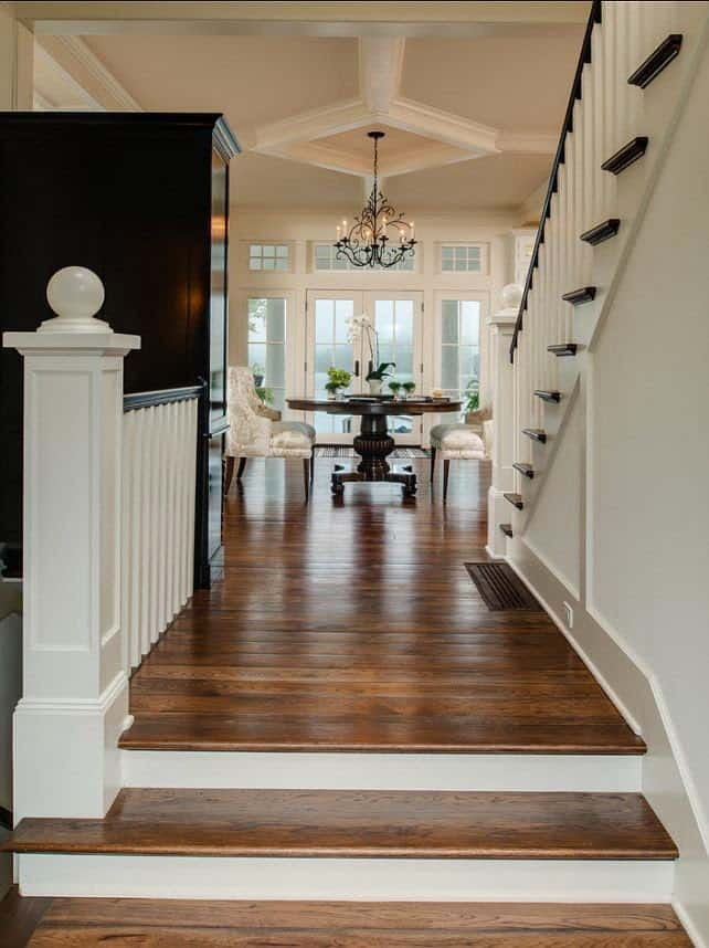 Mulling over wood floor colors shine your light for White hardwood floors design ideas