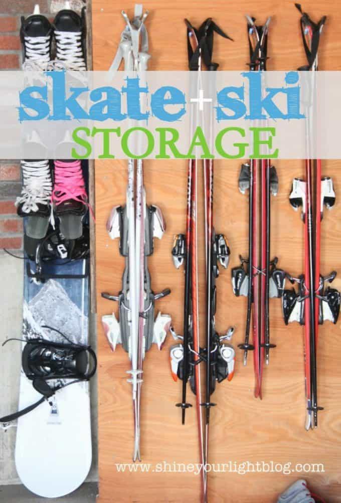 skate and ski storage
