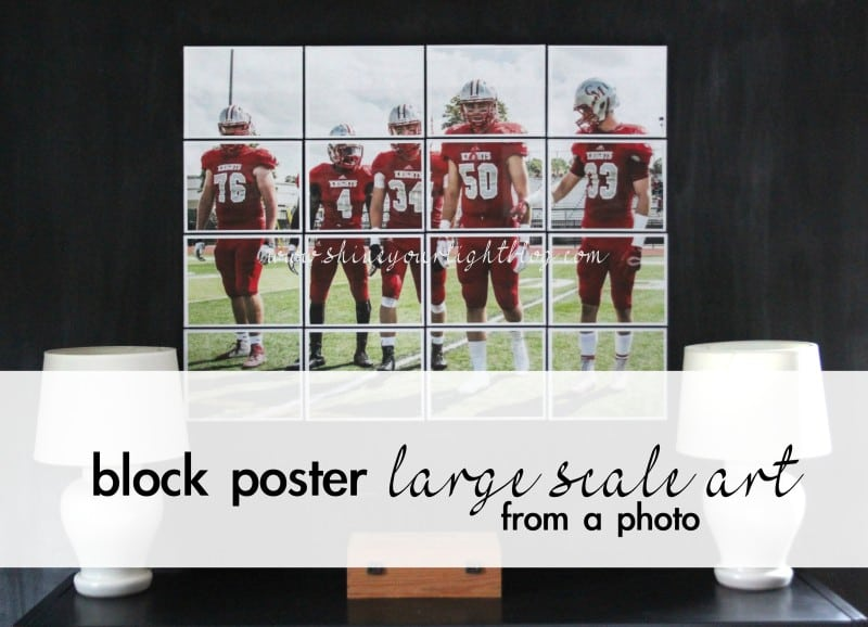 Block Poster Large Scale Art