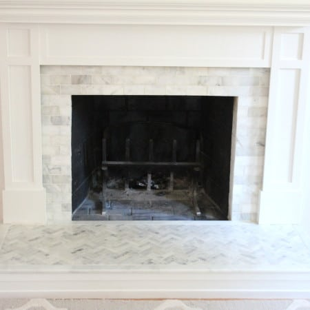 Fireplace Makeover | Tiling The Surround