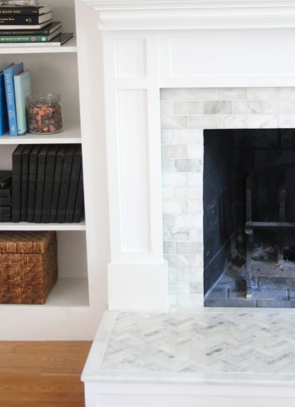 How To Tile Over A Brick Hearth Shine Diy Amp Design