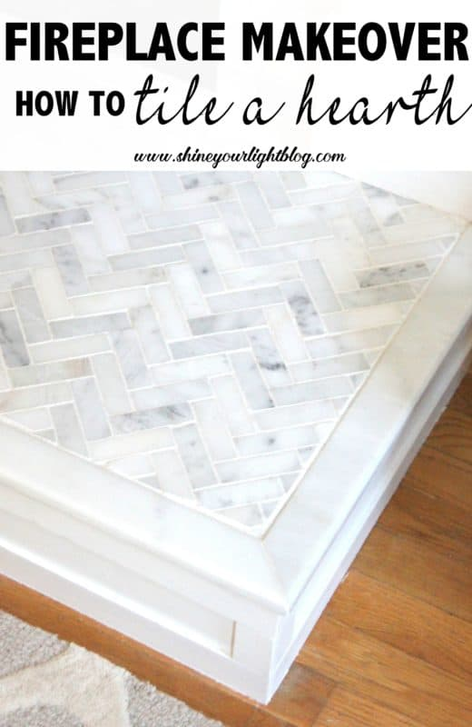 Marble Tiled Hearth | Shine Your Light