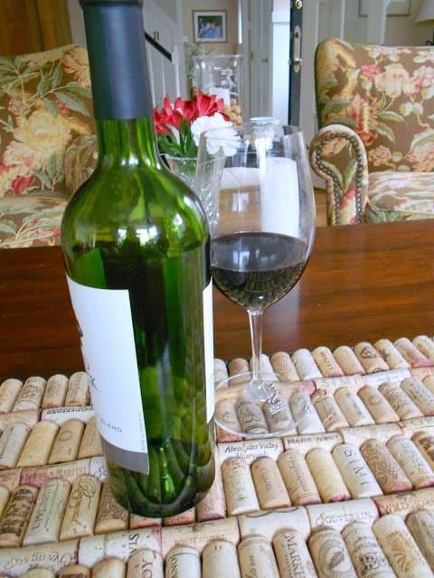 Wine Cork Tray | Shine Your Light