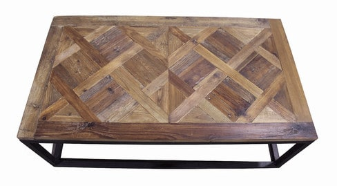 Wayfair Parquet Top Coffee Table