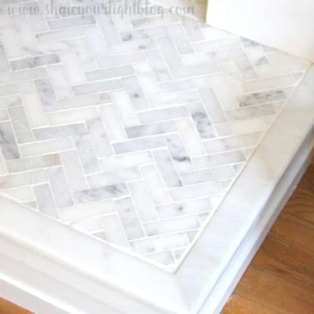 How to seal marble tile.