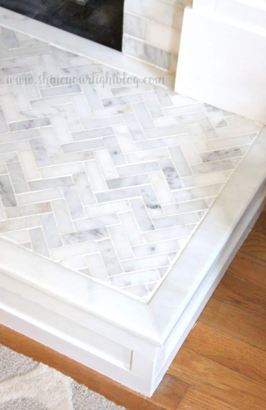 How To Tile Over A Brick Hearth