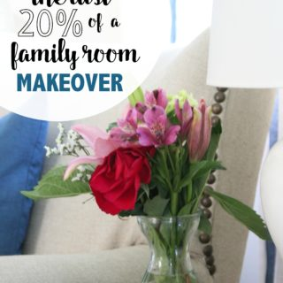 One Room Challenge Family Room Makeover