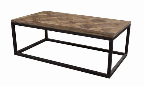 Parquet Top Coffee Table From Wayfair.