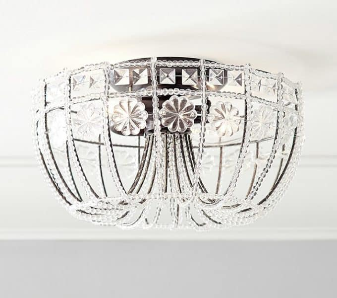 foyer-worthy flush mount ceiling lights - shine your light