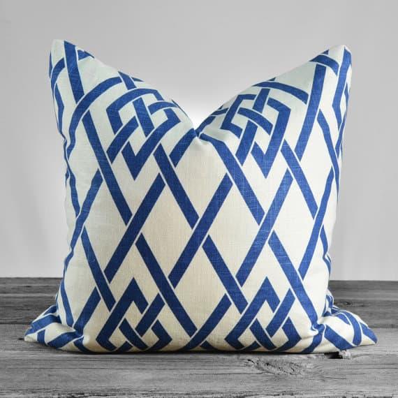 Braemore Secret Gate Sapphire Pillow