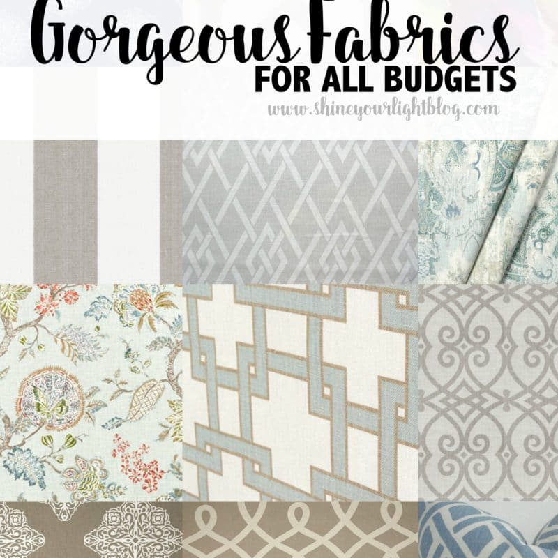 My Five Favorite Fabrics