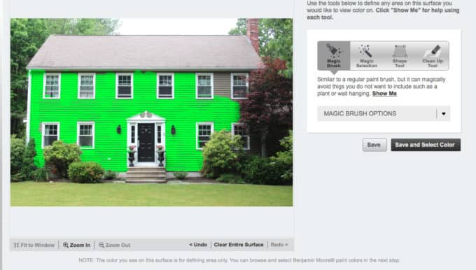 Choosing an exterior house color scheme shine your light - Paint my house exterior online collection ...