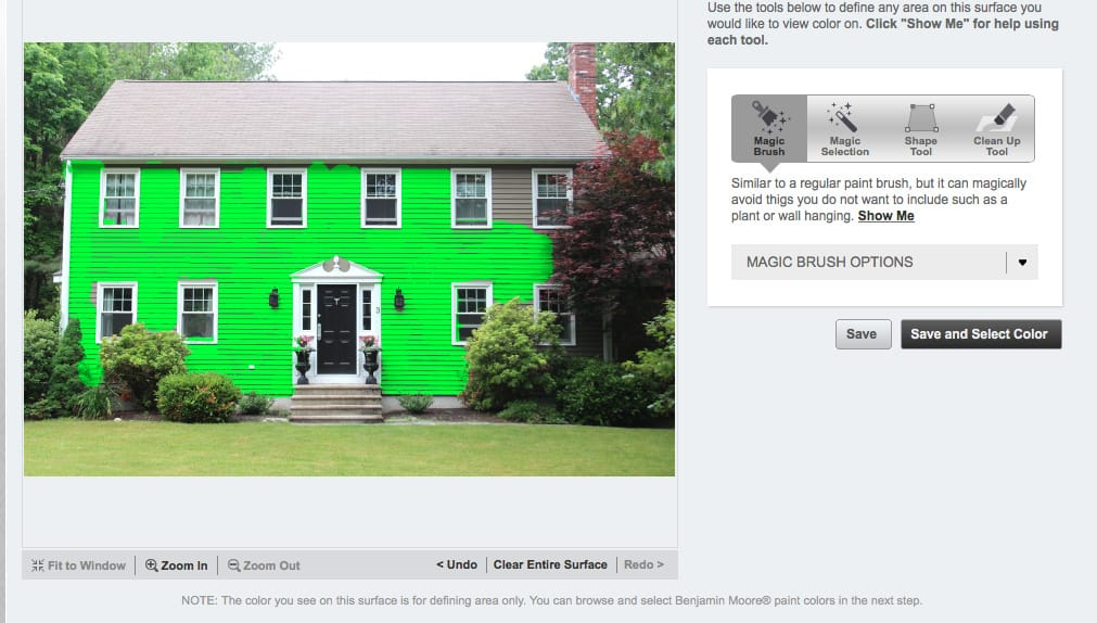 Choosing an exterior house color scheme shine your light for Paint your home online