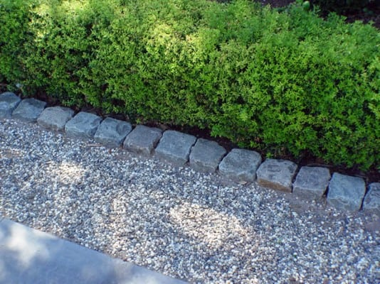 16 Antique Granite Cobble For Edging And Borders