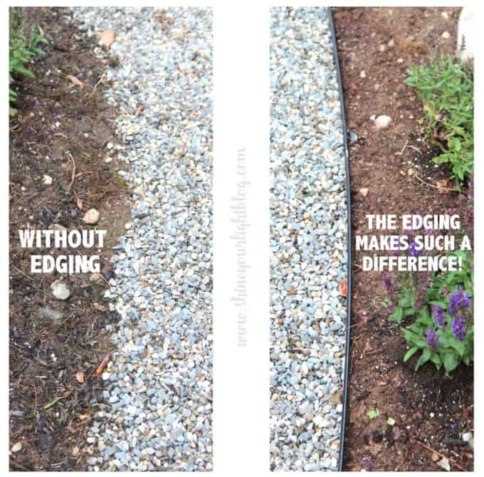 Superbe We Had Taken Into Consideration The Width Of The Garden Around The Patio  When We Removed Sod, So To Install The Edging I Measured In About 2 3u2032 From  The ...