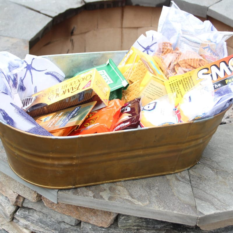 Make A S'mores Bucket For Your Host