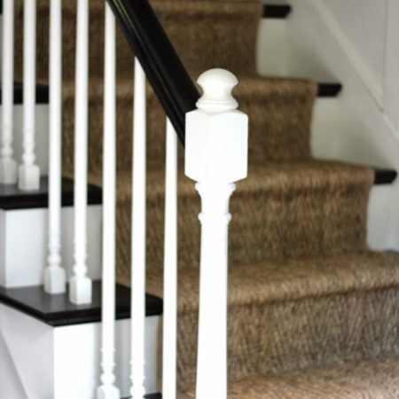 Stair makeover at Shine Your Light blog.