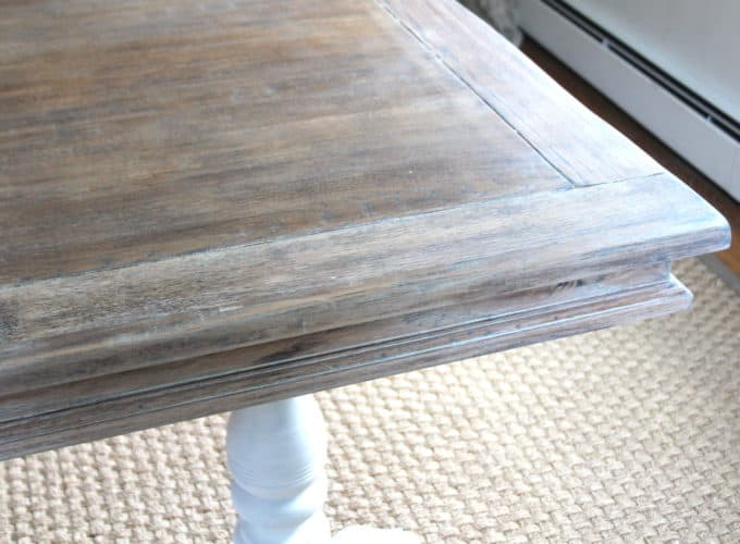 I found this wax to be brittle and hard at first  but once I started  working it into the wood it softened up and became more pliable. How To Lime A Dining Table   Shine Your Light