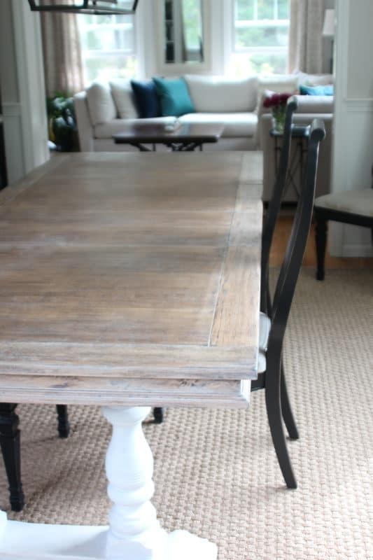 Limed Oak Table Part 42