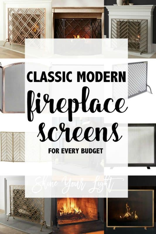 Sources For Great Fireplace Screens Shine Your Light